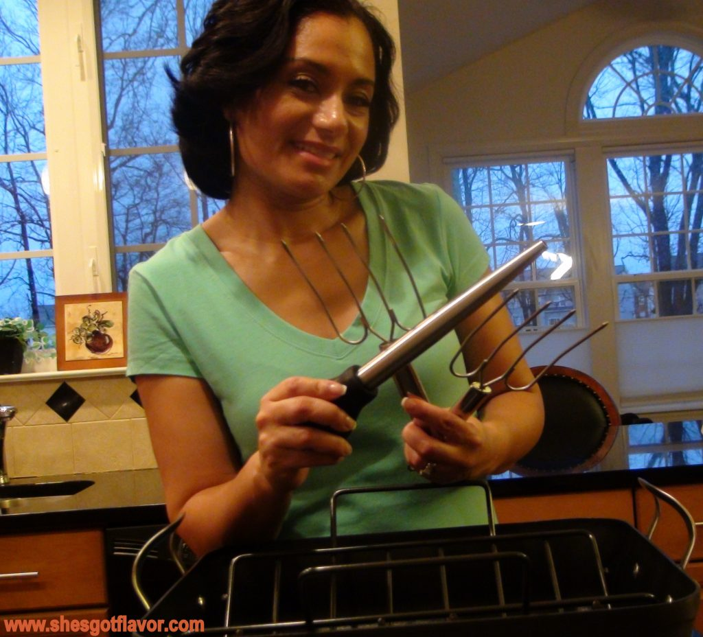 www.shesgotflavor.com Calphalon Easter Roaster Giveaway
