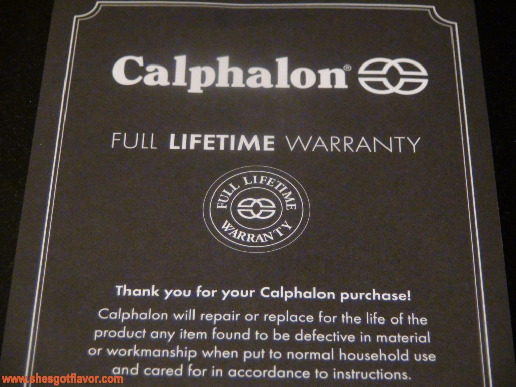 www.shesgotflavor.com Calphalong Lifetime warranty