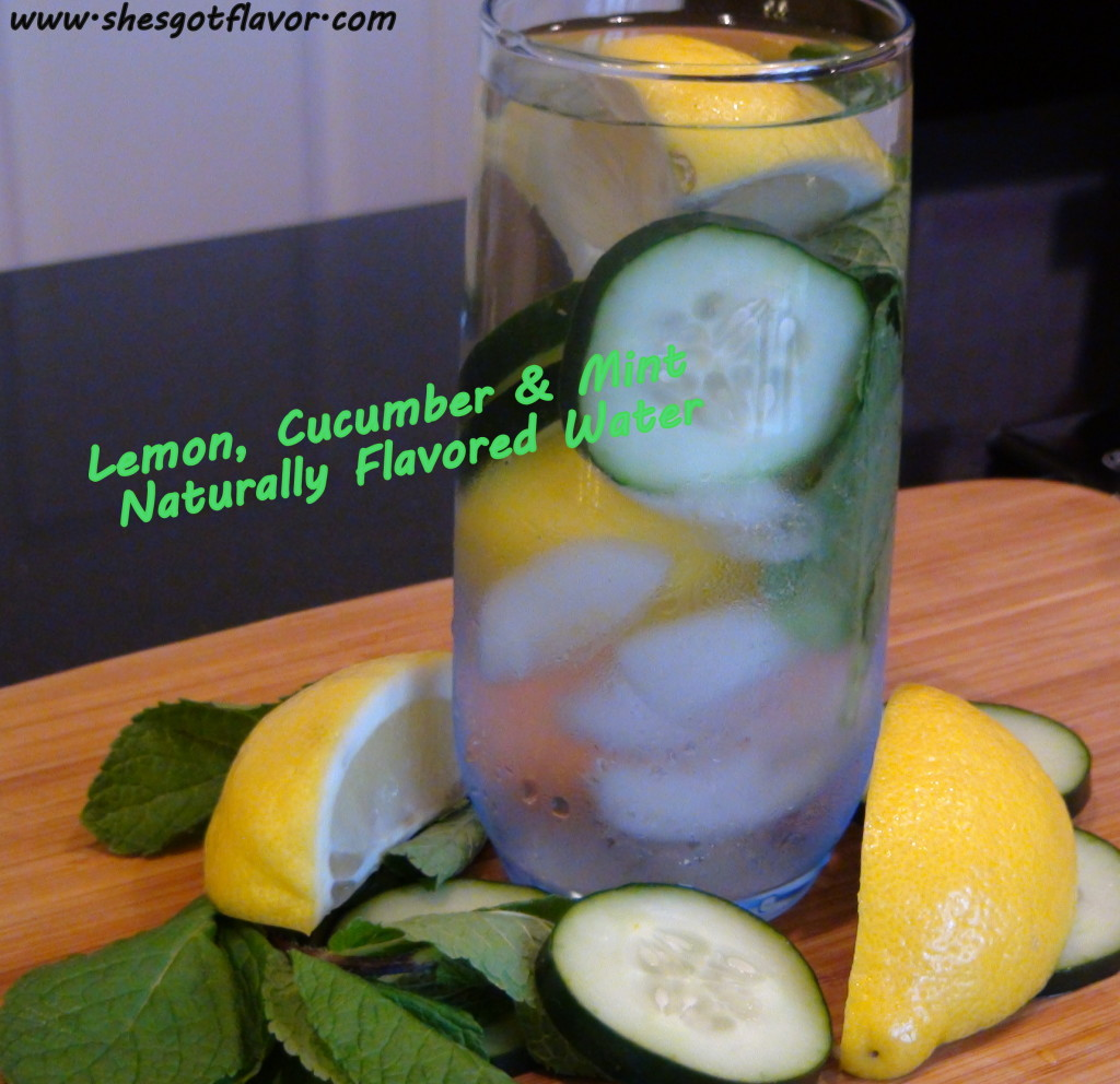 www.shesgotflavor.com naturally flavored water with cucumber