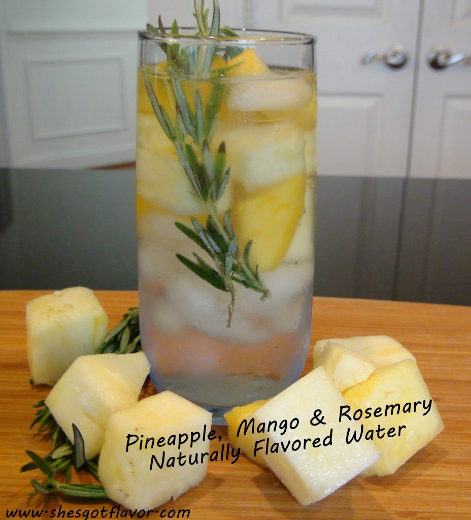 WWW.SHESGOTFLAVOR.COM NATURALLY FLAVORED WATER PINEAPPLE