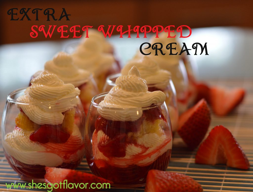 Lemon Strawberry Dessert Shots
