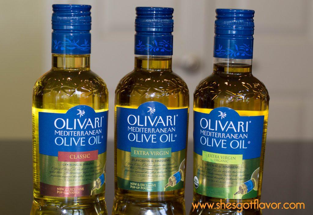 3 bottles oil